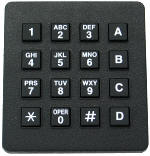 Sixteen Button Full Function Key Pad