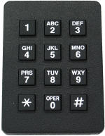 Twelve Button Key Pad